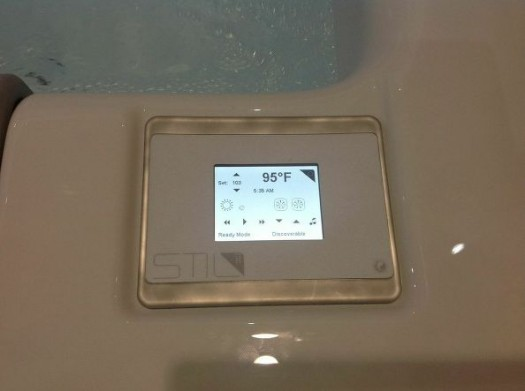 Spa Touch-Screen/Digital Display: