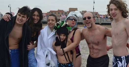 Chilled to the Bone Polar Plunge Enthusiasts