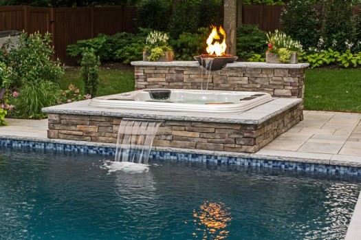 Spring forward daylight savings time brings out budding for Pool design long island ny
