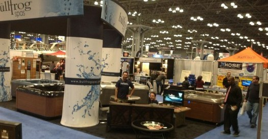 Long Island Hot Tub At New York Boat Show: