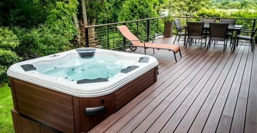 Hot Tub Location: