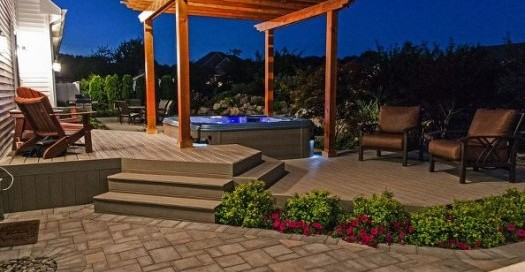 Hot Tub Pergolas (Long Island/NY):