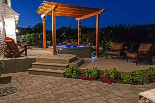 Hot Tub Pergolas (Long Island/NY): - Hot Tub Pergolas: A Marriage Made In Ancient Rome - Besthottubs