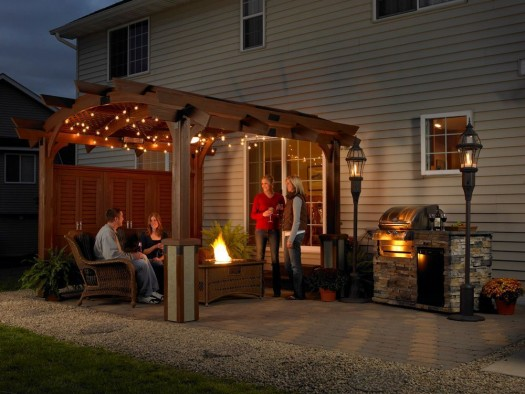 Fire Pit Safety: Should the flames in these units showcased today ever go out, the units will shut down automatically. A very popular safety feature!
