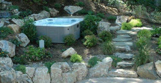 Portable Hot Tub Setting (Long Island/NY):