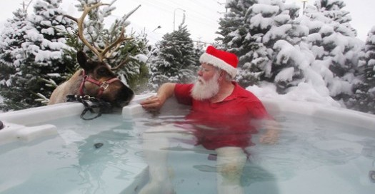 What Santa Really Wants (Photo: Bullfrog Spas)