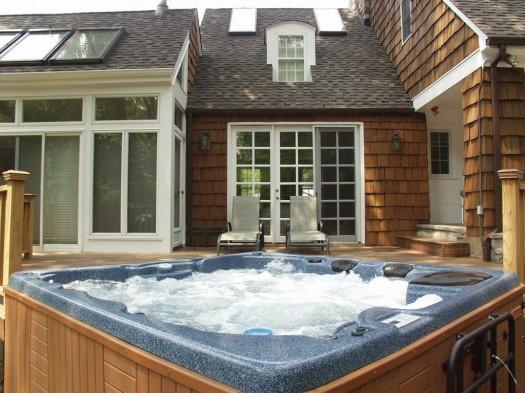 Pristine Hot Tub Water: