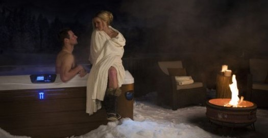 Happy Holidays in a Bullfrog Spa:
