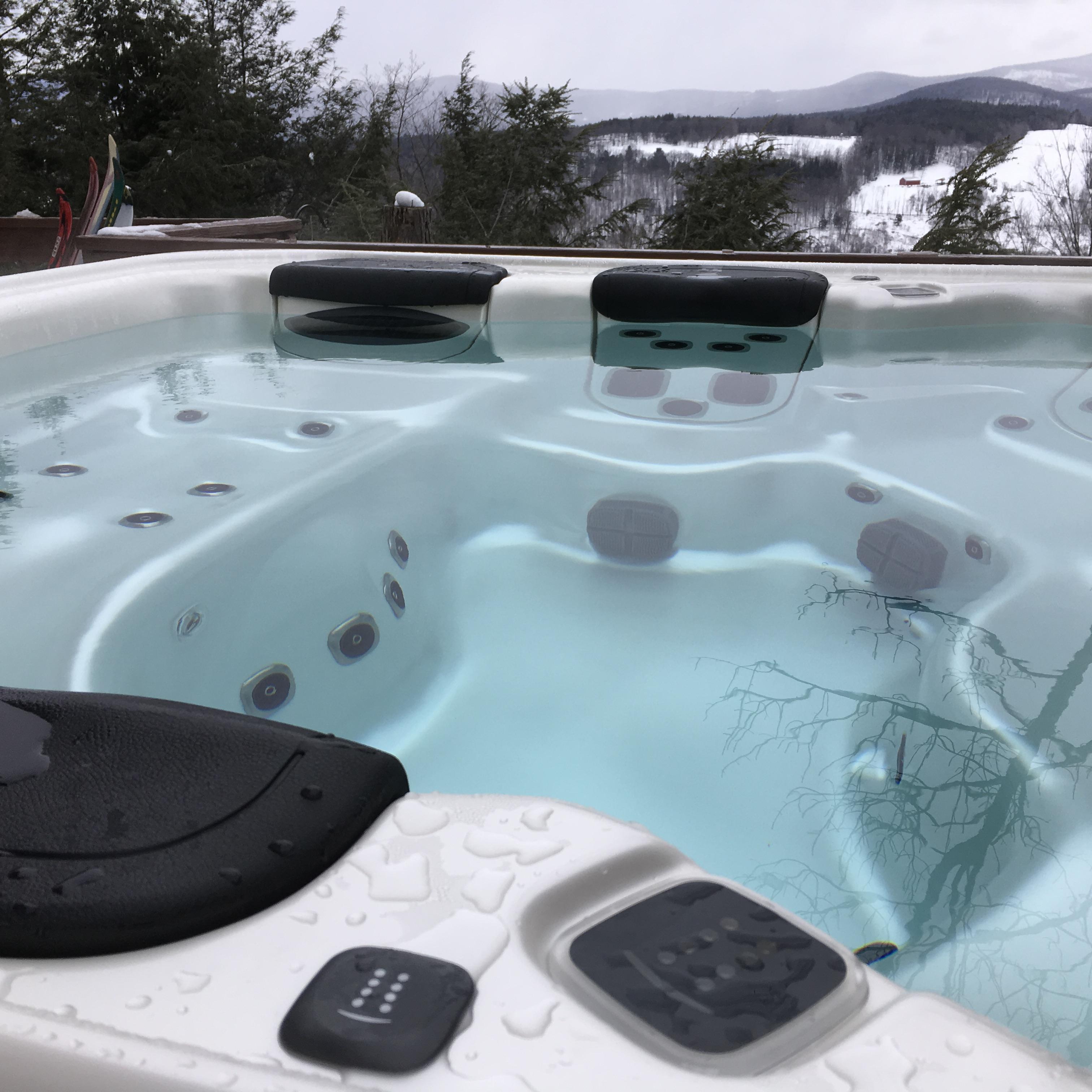 """After"" Hot Tub Maintenance Service Visit"