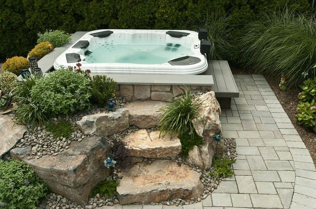 Set-in-Garden Hot Tub Installation: