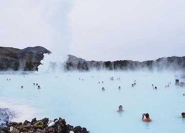 Reykjavik, Iceland, hot springs