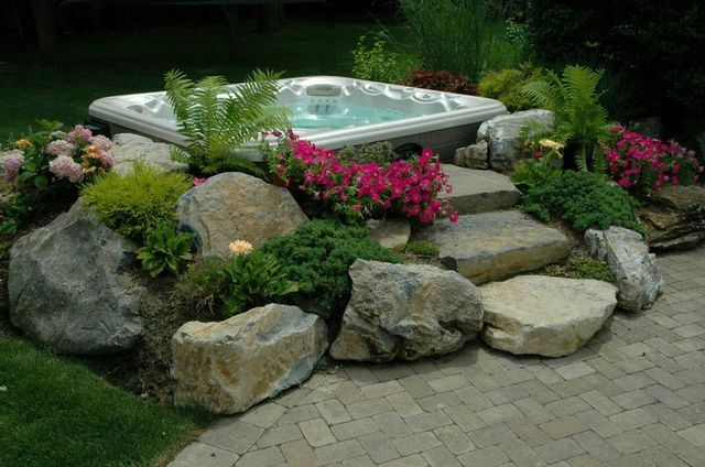 Ideas and tips for positioning your new portable spa for Repurpose inground swimming pool