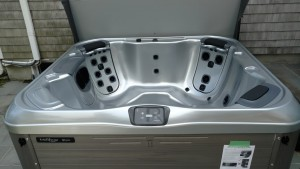 Bullfrog R model recently delivered by Best Hot Tubs