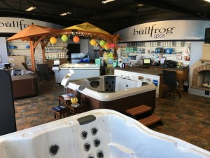 Best Hot Tubs' Showroom