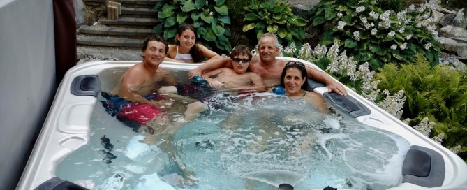 Happy Best Hot Tubs Clients!