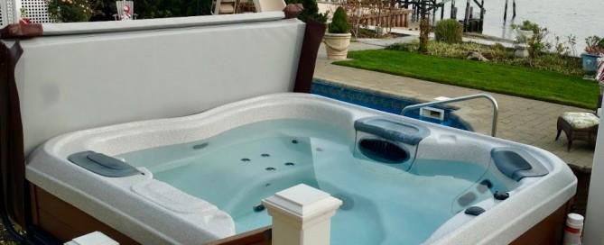 Pool/Waterside Hot Tub Installation: