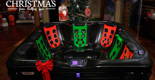 Bullfrog Spas: Dont forget to tie the last bow for yourself and enjoy your hot tub whenever the merry making requires. Merry Christmas!