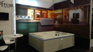 Best Hot Tubs Booth #479 at design showBest Hot Tubs Booth #479 at ADDS