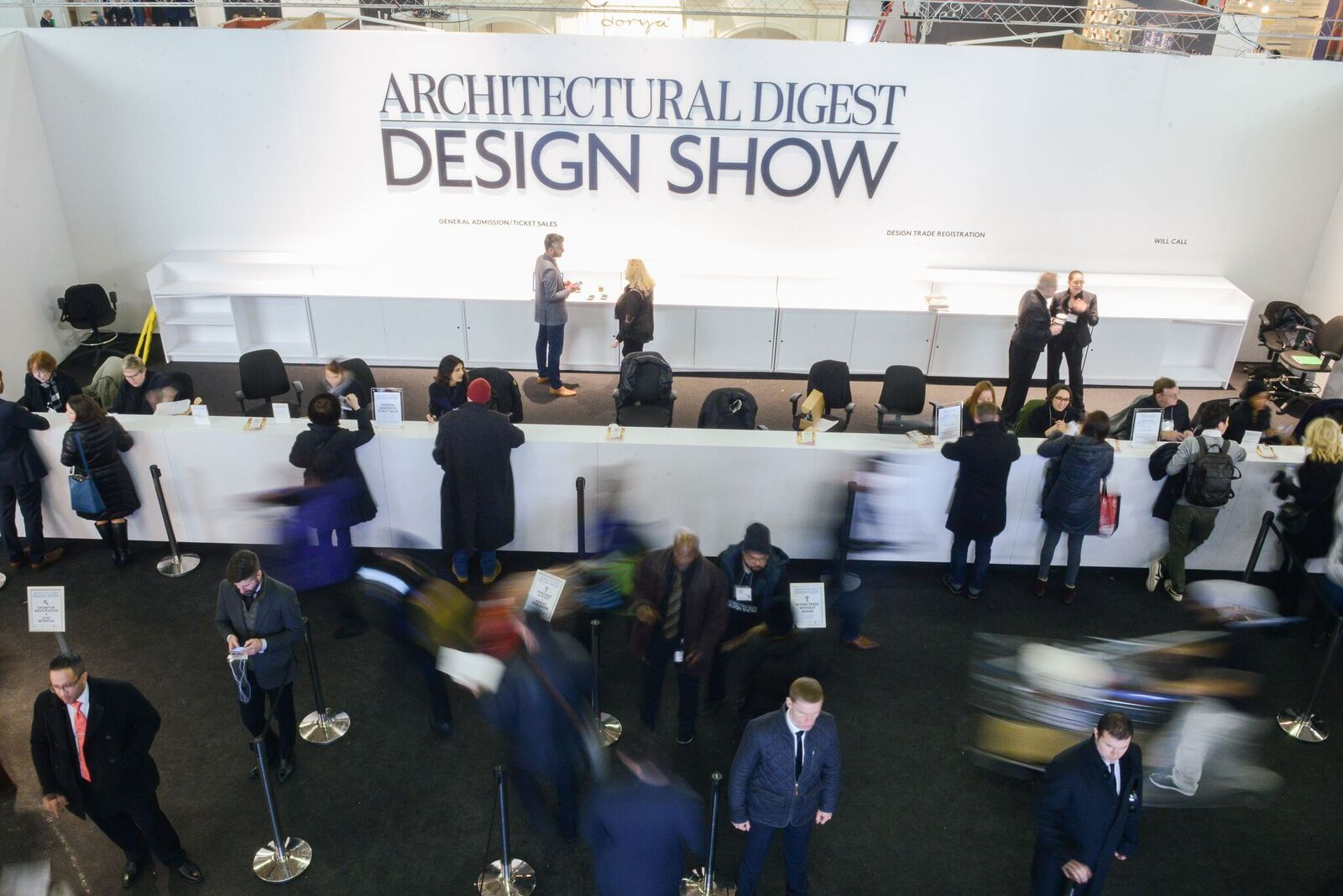 Architectural Digest Design Show, NYC, Mar 22-25