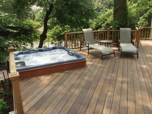 Hot Tub-Deck Installation