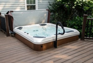 Hot Tub Deck Installation