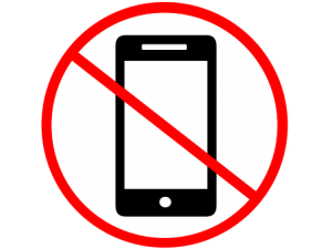 No Cell Phones Wanted