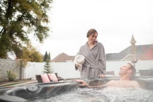Hot Tubs Encourage Romance