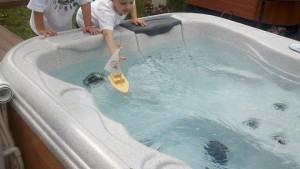 Kids Love Hot Tubs