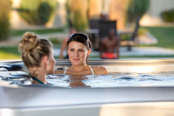 A Spa is Great for Conversation: