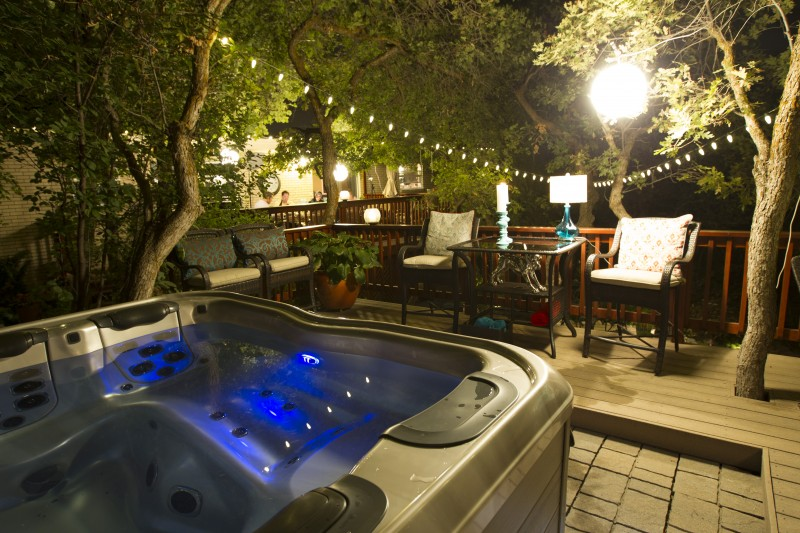 Pristine Hot Tub Helps Make the Sale