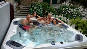 Hot Tubs Make Great Water Features (Long Island/NY):