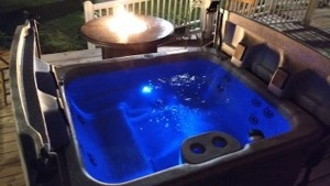 Hot Tub Rental with Fire Pit (Windham/NY):