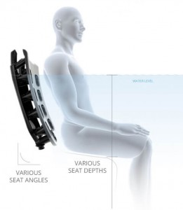 No matter your height or preferred seat depth, Bullfrog Spas has a comfortable seat just for you.