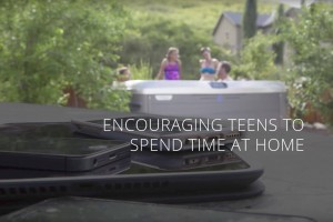 Teens Love Hot Tubs