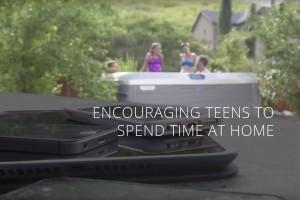 Teens Love Hot Tubs