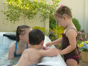 Hot Tub Temperature for Children