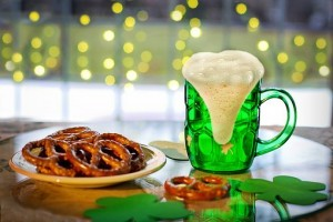 Green Beer Only by the Mug-full