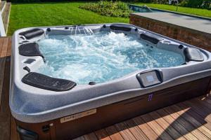 Deck Hot Tub Installation