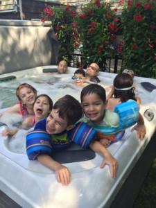 Hot Tub Summer Fun