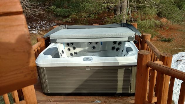 Newly Purchased Best Hot Tubs' Spa