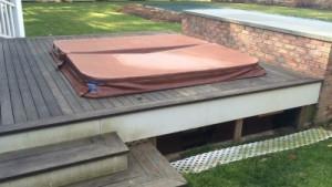 Previous Spa Installation (Photo: Courtesy of Proper pH Pools/E. Hampton)